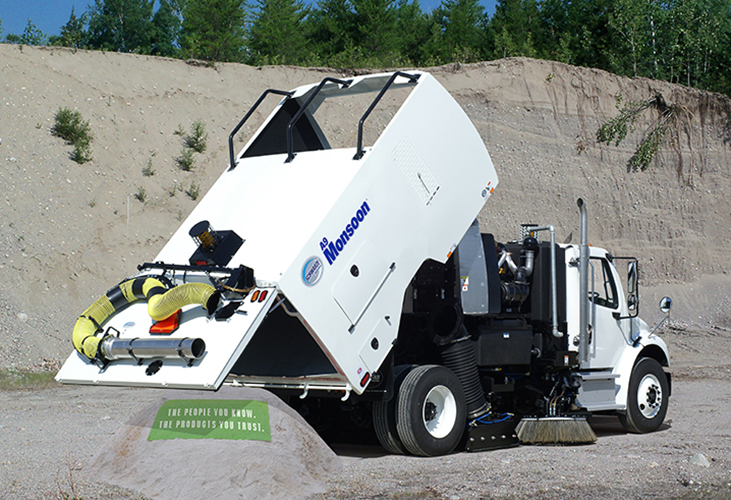 Construction Sweeper