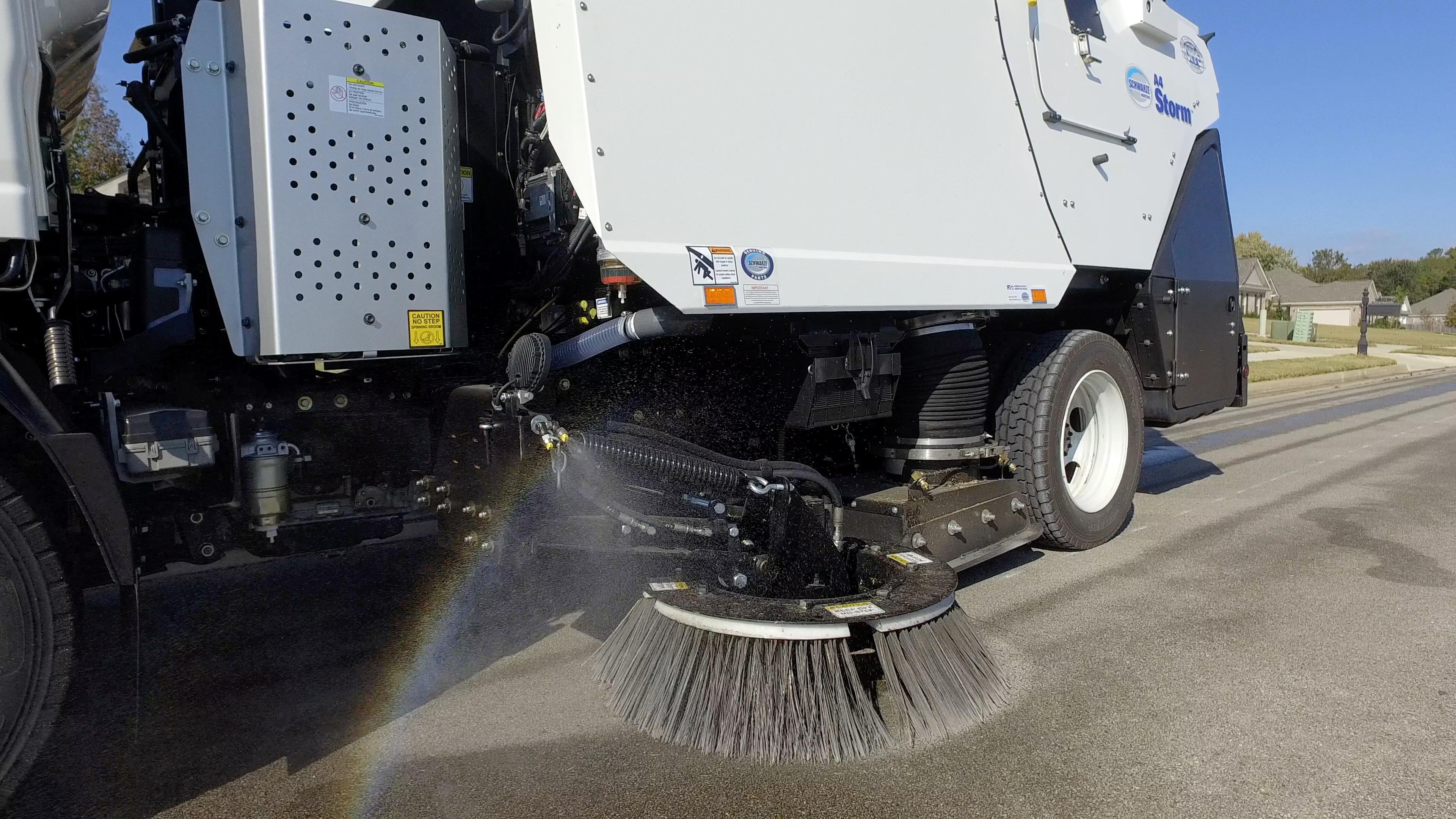 A4 Storm Street Sweeper Schwarze Industries
