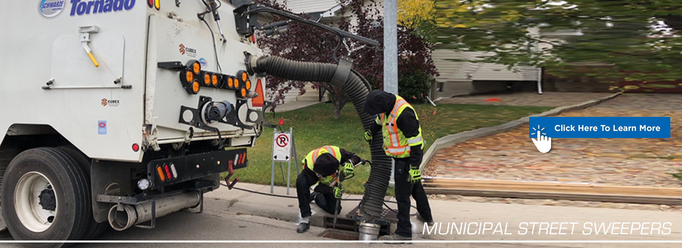 Municipal Street Sweepers Banner Graphic
